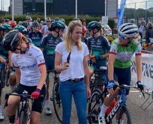 Anna van der Breggen v roli startérky na Simac Ladies Tour 2021