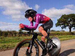 Demi Vollering míří za výhrou v časovce, 3. etapě The Women's Tour 2021
