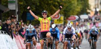 Marta Bastianelli vítězí v úvodní etapě The Women's Tour 2021